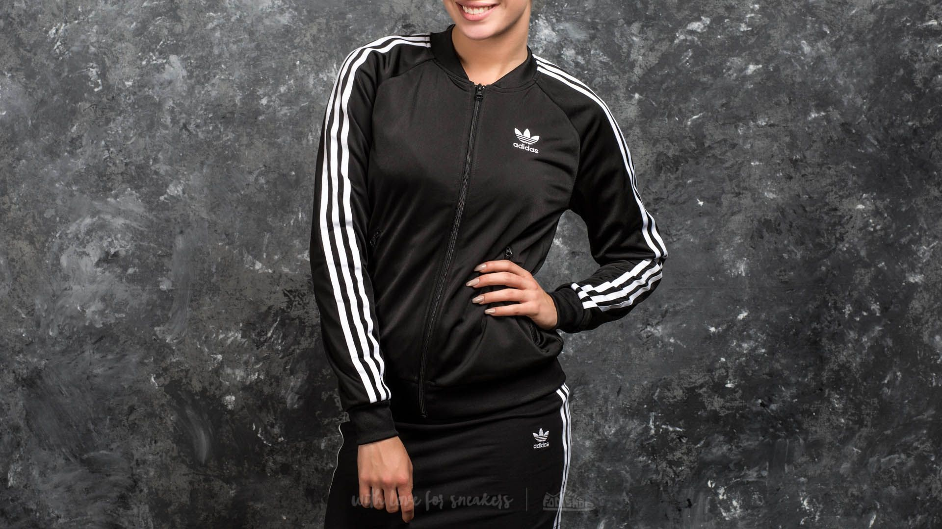 Adidas Originals adidas Superstar Track Jacket Black    dressie.sk c0cb448b135