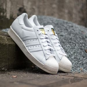 adidas Superstar 80s Deluxe Ftw White/ Ftw White/ Clean White