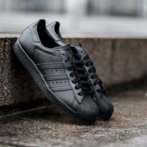 adidas Superstar 80s Core Black/ Core Black/ Ftw White