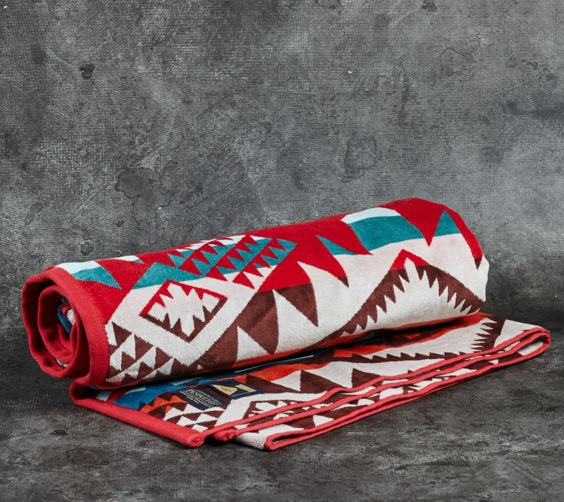 Poler x Pendleton Jacquard Towel Journey West 2