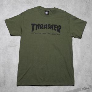 Thrasher Skate Mag T-Shirt Army Green