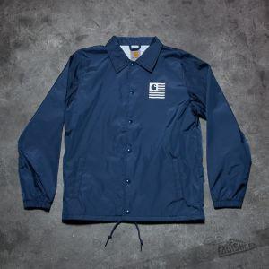 Carhartt WIP State Coach Jacket Blue/ White