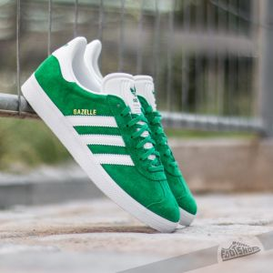 adidas Gazelle Green/ White/ Gold Met