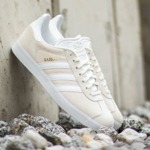 adidas Gazelle Off White/ White/ GoldMT