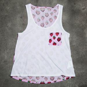 Vans G Strawberried Pocket White