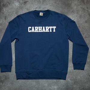 Carhartt WIP College Sweatshirt Blue/Navy