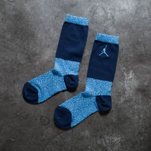Jordan Elephant Crew Socks University Blue