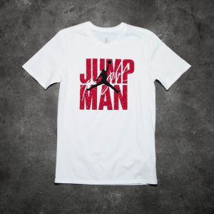 Jordan Jumpman Flight Tee White