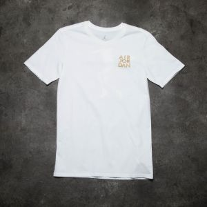 Air Jordan 5 Hang Time Tee White