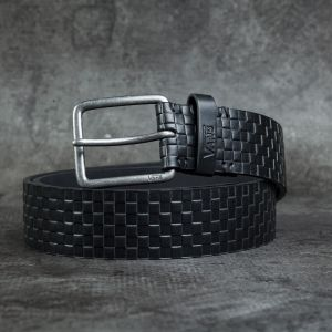 Vans Devoy Pu Belt Black Checker