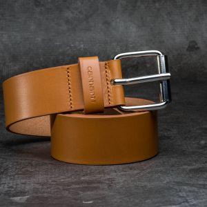 Carhartt WIP Script Belt Buckskin/Silver
