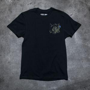 Vans M Printed Pocket Tee Black/ Indigo Bloom