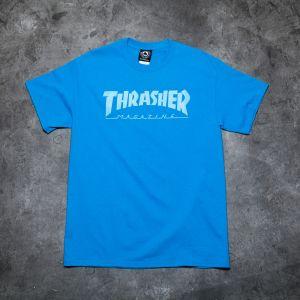 Thrasher Magazine Logo T-shirt Saphire
