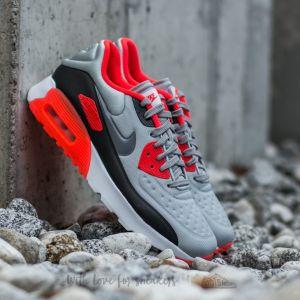 Nike Air Max 90 (GS) Ultra SE (GS) Wolf Grey/ Cool Grey-Bright Crimson-Black