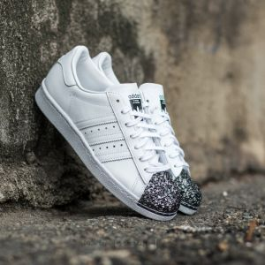 adidas Superstar 80s Metal Toe TF Ftw White/ Ftw White/ Core Black