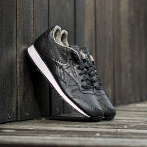 Reebok Classic Leather Lux Horween Black/ Coal/ Chalk