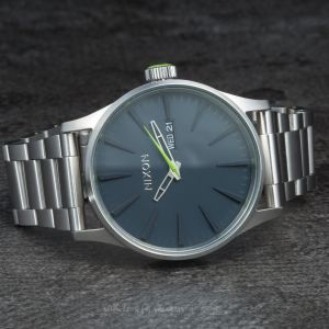 Nixon Sentry SS Midnight Blue/Volt Green