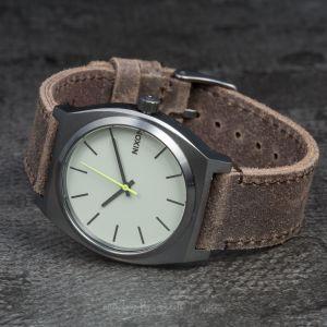 Nixon Time Teller Gunmetal/Brown