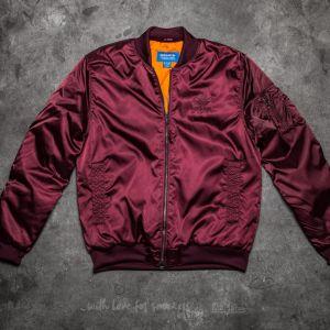 adidas MA-1 Superstar Maroon Jacket
