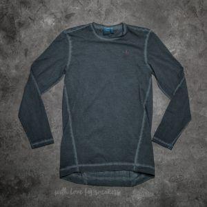 adidas Street Modern Long Sleeve Tee Dyed Solid Grey