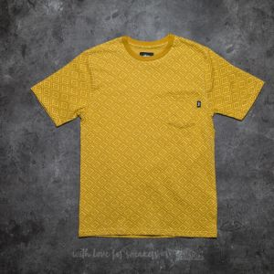 Stüssy Diamond Short Sleeve Crew Tee Mustard