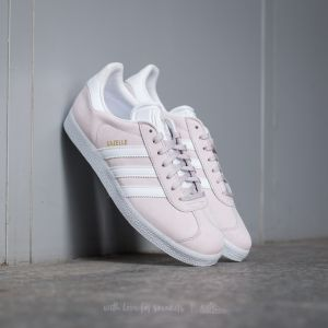 adidas Gazelle Icepur/ White/ Gold Metallic