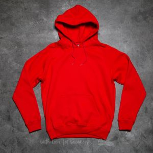 Urban Classics Blank Hoody Red