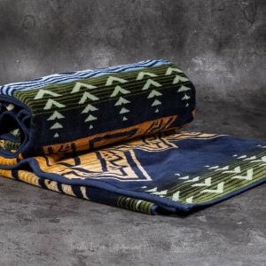 Pendleton Oversized Jacquard Towel Midnight American Treasures