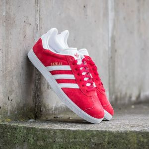adidas Gazelle Power Red/ White/ Gold Metallic