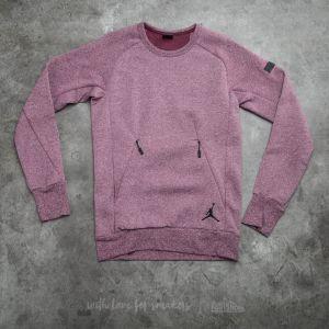 Jordan Icon Fleece Night Maroon/ Black