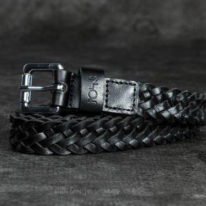 Polar Skate Co. Slim Woven Belt Black