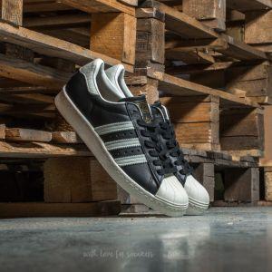adidas Superstar 80s Core Black/ Ftw White/ Gold Metallic